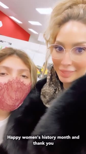 Farrah Abraham and Sophia Go Shopping
