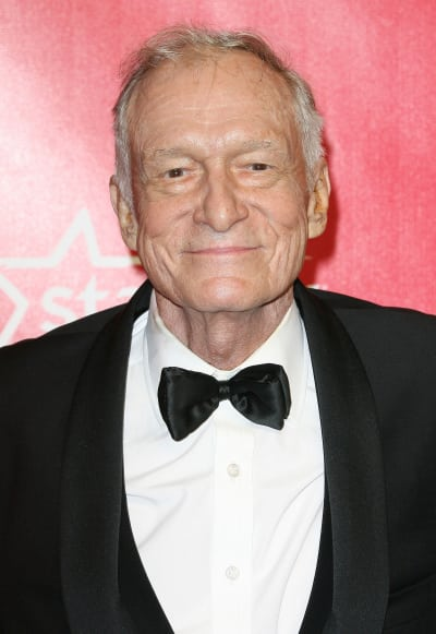Hugh Hefner in a Tux
