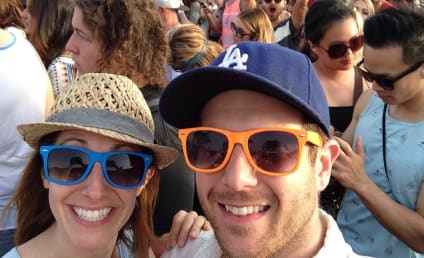 Aaron Paul, Kellan Lutz Photobomb Coachella Couple!