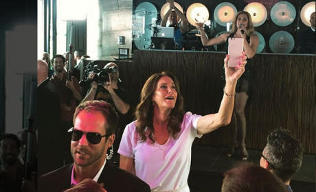 Caitlyn Jenner Attends Gay Pride Parade Party in NYC