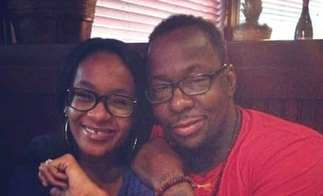 Bobbi Kristina and Bobby Brown Photo
