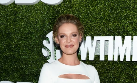 Katherine Heigl in White
