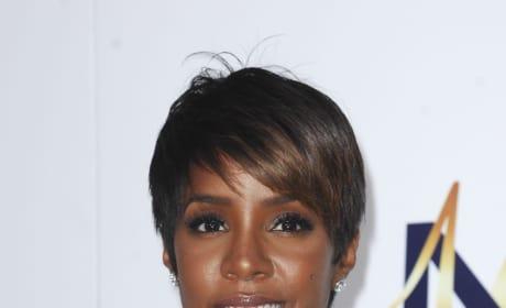 Kelly Rowland Movie Premiere Pic