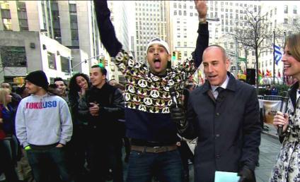 Matt Lauer: Too Soft on Chris Brown?