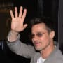 Brad Pitt Says Hello