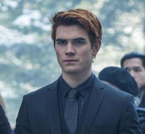 KJ Apa on Riverdale Season 2 Episode 19