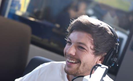 Louis Tomlinson Interview Photo