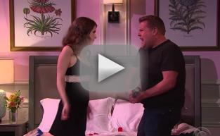 Anna Kendrick Performs Love Story Soundtrack with James Corden