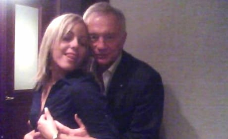 Jerry Jones Gropes Woman