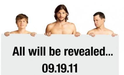 Ashton Kutcher Featured in (NAKED!) Two and a Half Men Promotional Photo
