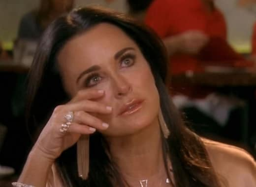 Kyle Richards Cries