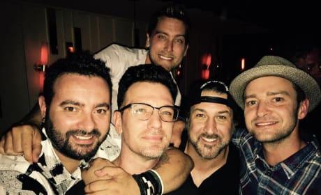 N Sync Reunion Pic