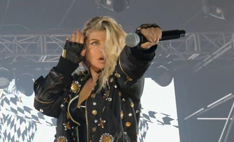Fergie on Stage