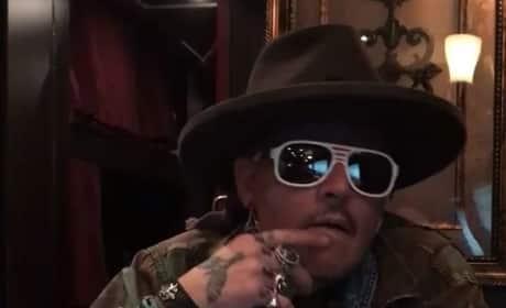Johnny Depp: Drunk on Instagram