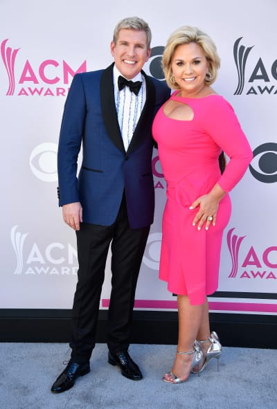 Todd Chrisley and His Wife