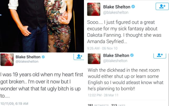 Blake shelton and gwen stefani get ready to perform on the voice