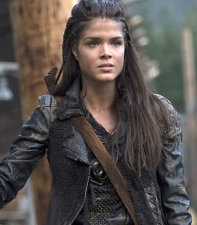 Marie Avgeropoulos on The 100
