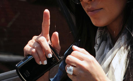 What do you think of Kim Kardashian's engagement ring?