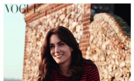 Kate Middleton Wears Breton Stripes For British Vogue