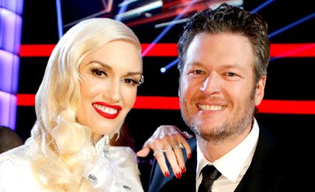 Gwen and Blake Happy