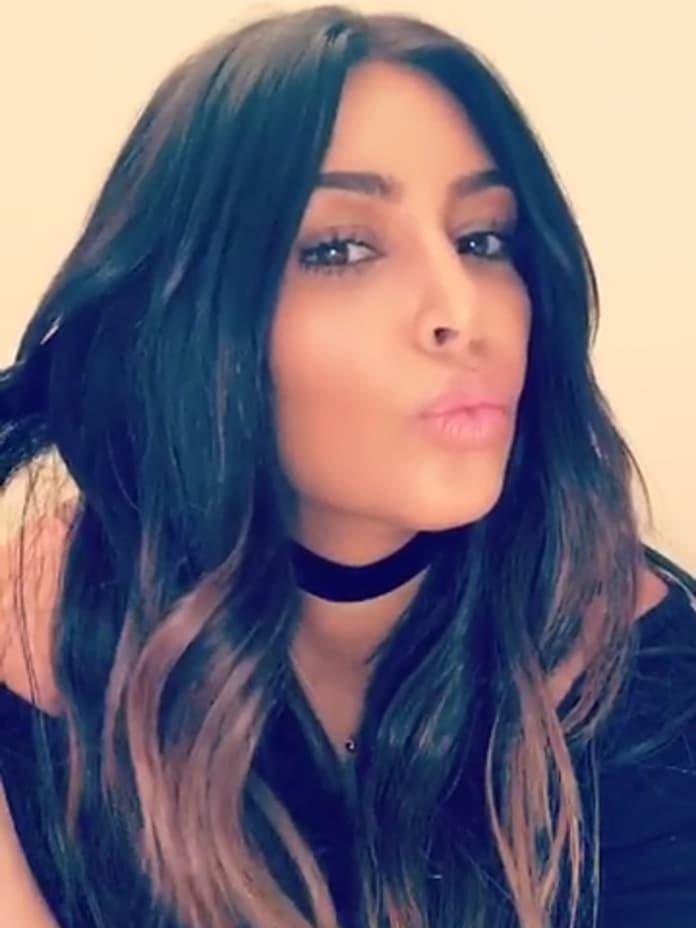 Kim Kardashian Sort Of Goes Blonde Again The Hollywood Gossip