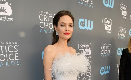 Angelina Jolie is Here!