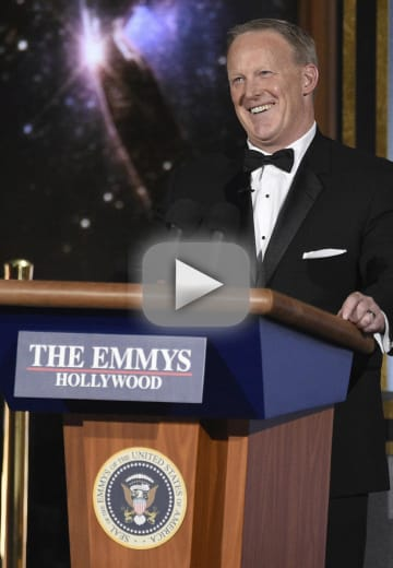 Sean spicer crashes the emmys inspires endless backlash