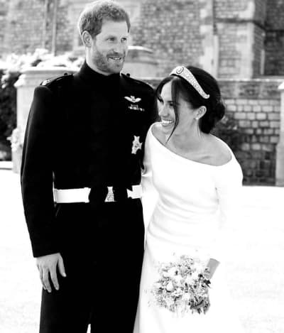 Meghan Markle and Prince Harry on Wedding Day