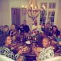 Taylor Swift Thanksgiving dinner