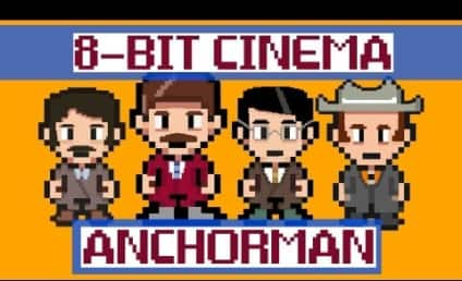 Anchorman 8-Bit: I Love Lamp Still Funny