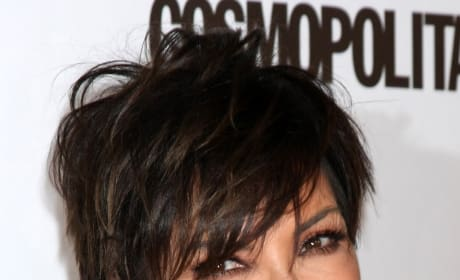 Kris Jenner at Cosmo Party