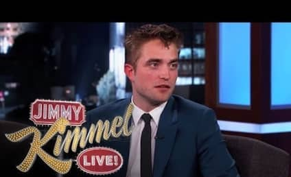 Robert Pattinson Talks Heavy Saliva, Homelessness on Jimmy Kimmel Live