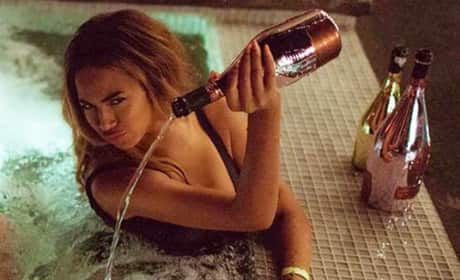 Beyonce and Champagne