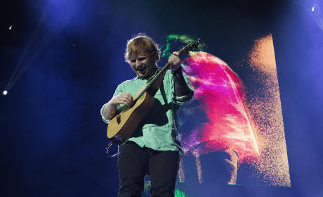 Ed Sheeran Performs In Perth, Australia