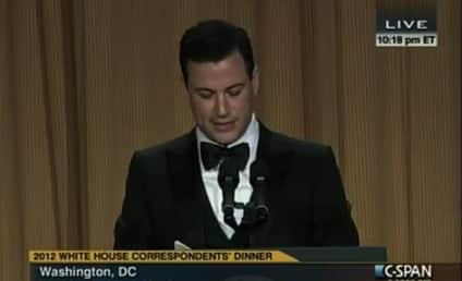 Jimmy Kimmel at White House Correspondents Dinner: Mr. President, Salaam...