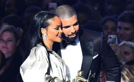 Drake and Rihanna Picture