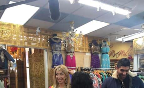Farrah Abraham in Bridal Shop