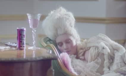 Kim Kardashian: Hyped Up as Audrey Hepburn & Marie Antoinette!