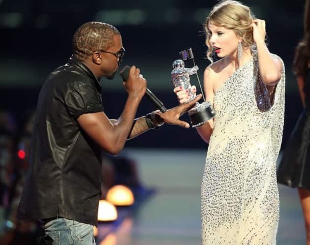 Kanye Interrupts Taylor