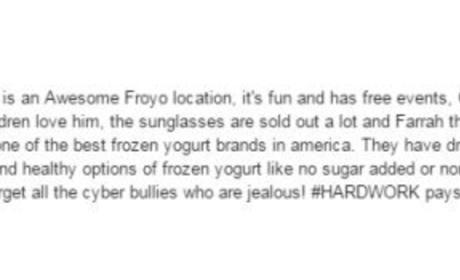 Farrah Abraham Yelp Review