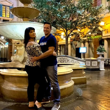 Tiffany Franco Smith and Ronald Smith in Montecasino