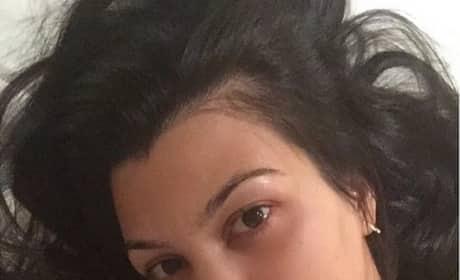 Kourtney Kardashian No Makeup Picture