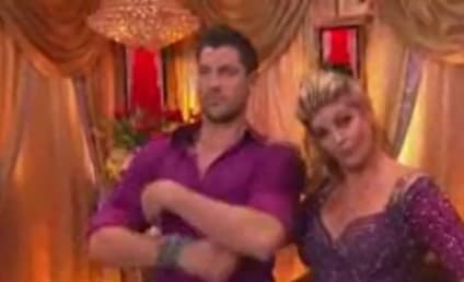 Kirstie Alley, Maksim Chmerkovskiy Kiss on Dancing With the Stars!