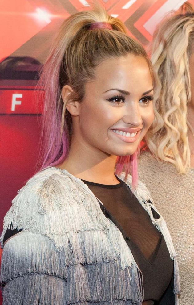 Demi Lovato, Pink Hair