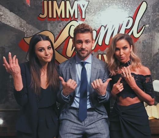 Nick, Andi and Kaitlyn