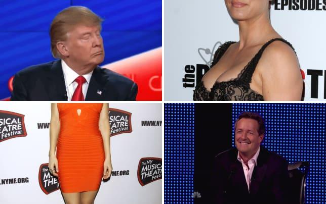 Donald trump shrugs it off gif
