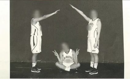 Nazi Salute Photo, Hitler References Land High School Basketball Players in Trouble