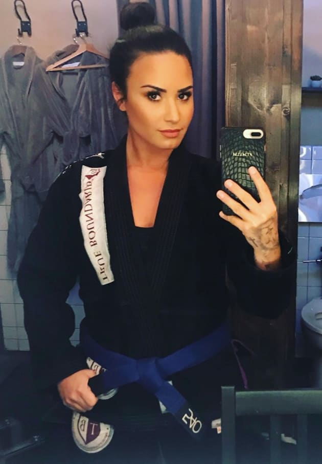 Demi Lovato Will Beat You Up