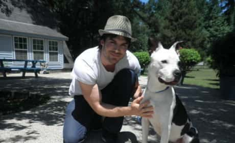 Ian Somerhalder, Dog