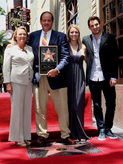 Chris Berman, Katherine Berman, and Kids